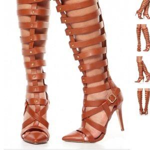 🔥Glam statement Tall gladiator heels 🔥